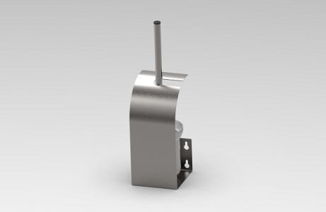 A1020 Arch shape toilet brush holder
